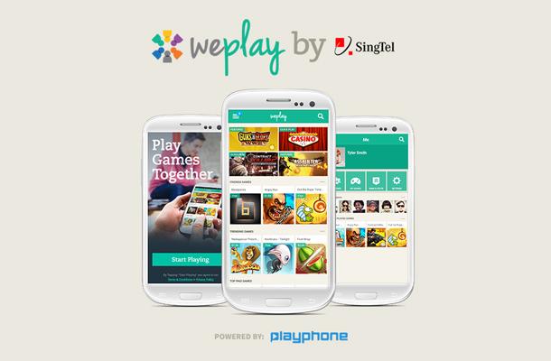 WePlay: SingTel and PlayPhone